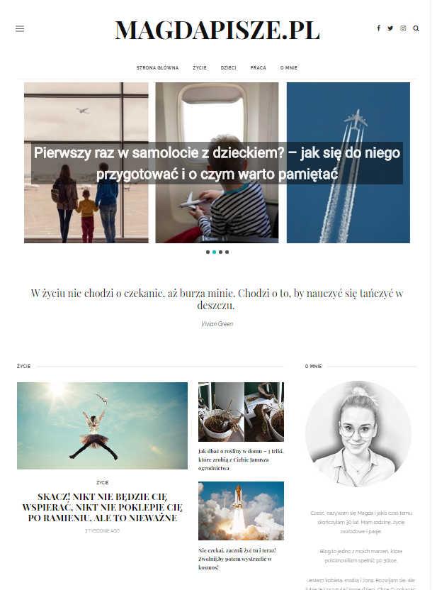 blog magdapisze.pl